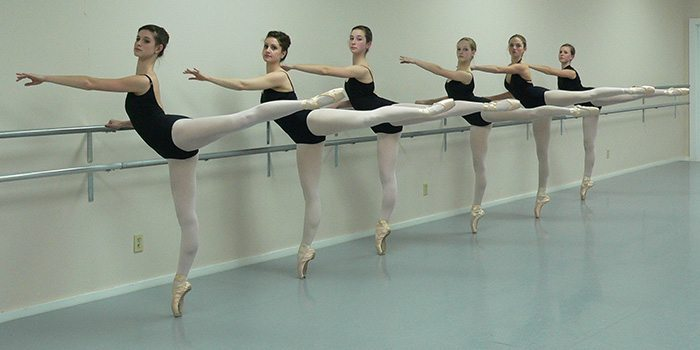 Ballet Classes pose